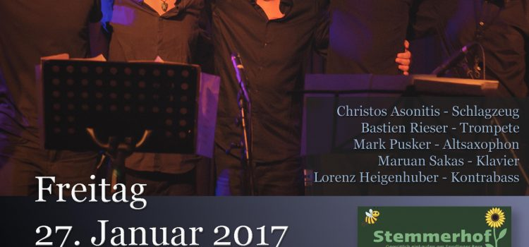 Debut concert of Christos Asonitis Quintet in Munich