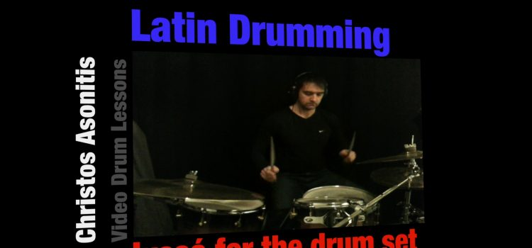 New Video for Latin Drumming-Lessons