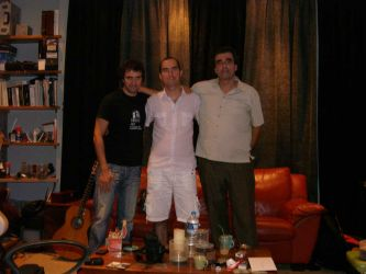 Recording Session, Soundflakes Studio, GR
